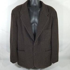 J.crew VTG Brown Coat 70% wool 30% Nylon